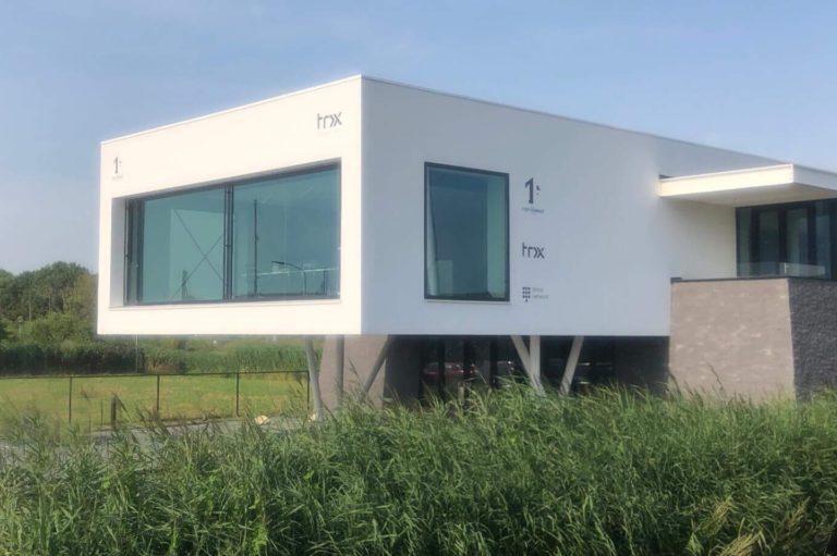 Foto gebouw topformat